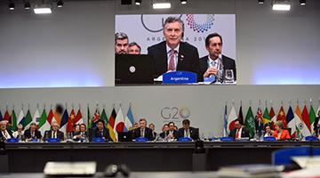 G20公报维护多边主义 十九国支持《巴黎协定》仅美重申退出