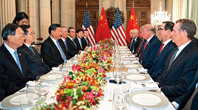 中美贸战降温 全球经济纾压