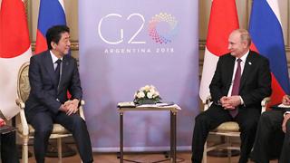 日首相明年初訪俄 尋求簽署和約解決領土問題