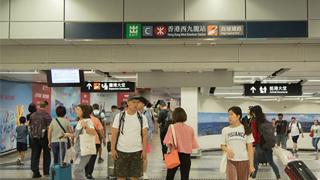 香港高铁日均客流5万人次 三成为港人