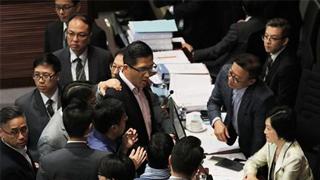林卓廷尹兆坚被警方预约拘捕