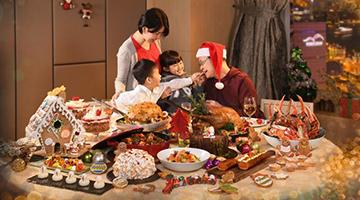 """香港""""金色圣诞""""超豪自助餐突破二千元 业界看好生意升8%"""