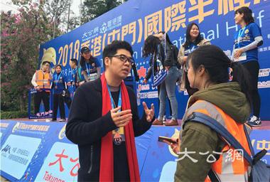 吳學明:香港半馬用體育精神連接青年