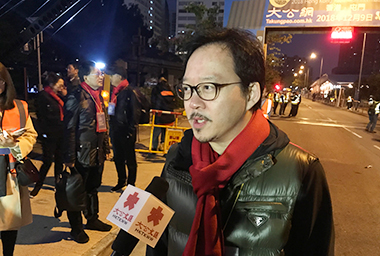 張俊勇:向未來而跑 馬拉松增兩地人心互通管道