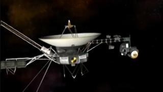 """""""旅行者2号""""探测器穿越日光层进入星际空间"""