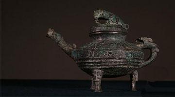 """曾在英被拍卖的圆明园文物青铜""""虎蓥""""入藏中国国家博物馆"""