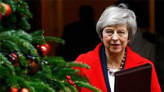 英国保守党宣布启动针对特雷莎·梅的不信任投票
