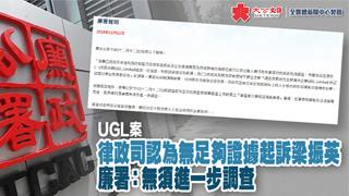 UGL案│律政司:梁振英与UGL谈判符合戴德梁行利益