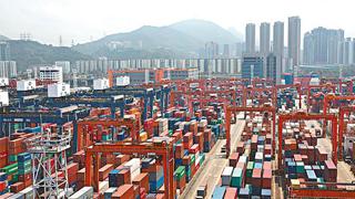 香港贸发局:香港出口表现平稳 明年增速将放缓