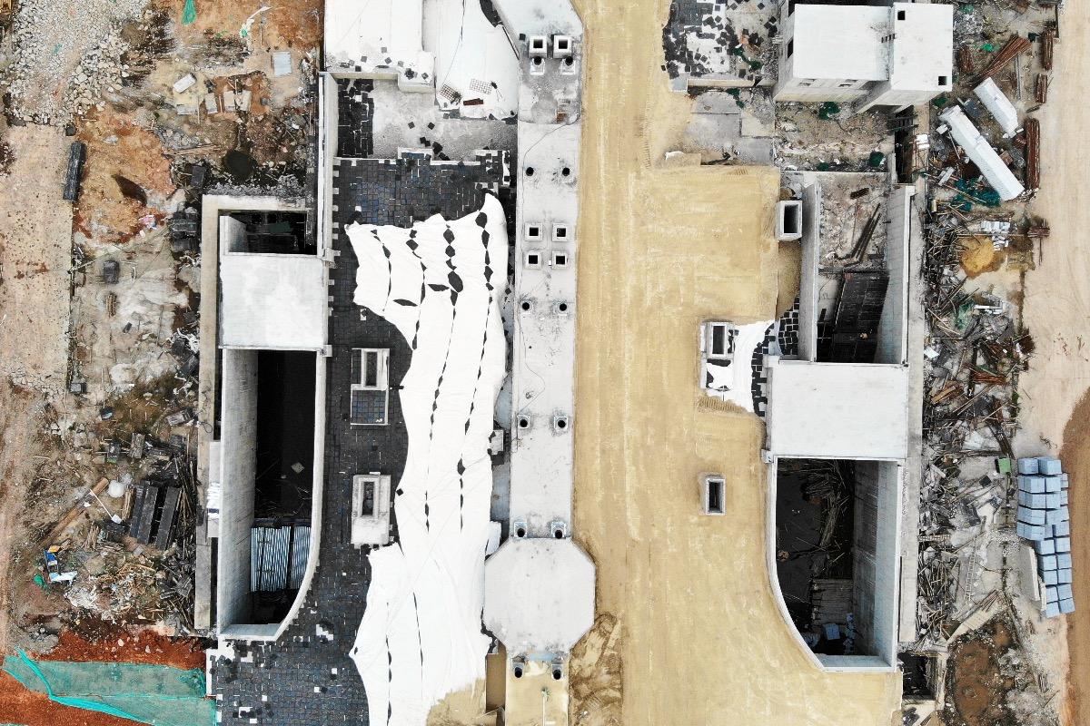 """嘉兴中港城美食街_南沙灵山岛尖地下空间主体结构封顶 将建""""巷、街、城、港、岛 ..."""