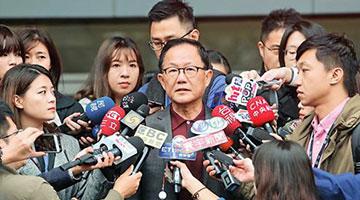 台北市长选举重新计票结果出炉 丁守中没翻盘又多输313票