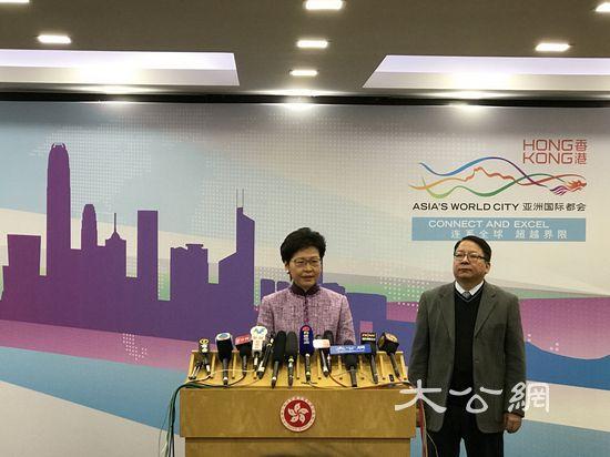 林�:香港希望明年�⑴c三件��家大事