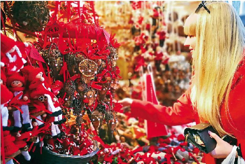 美泉宫圣诞市集