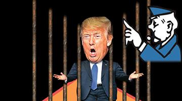 通俄调查杀埋身民主党扬言送入狱《特朗普丑闻集》入戏肉