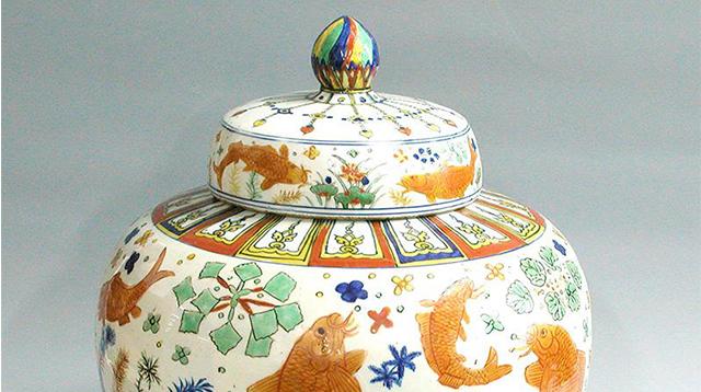 中国古陶瓷釉上五彩工艺