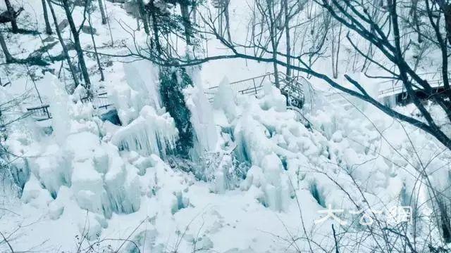 白雲山冬季自然美景別具特色