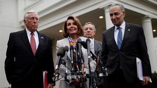 """佩洛西当选新一届美国众院议长 新预算案拒向""""边境墙""""拨款"""