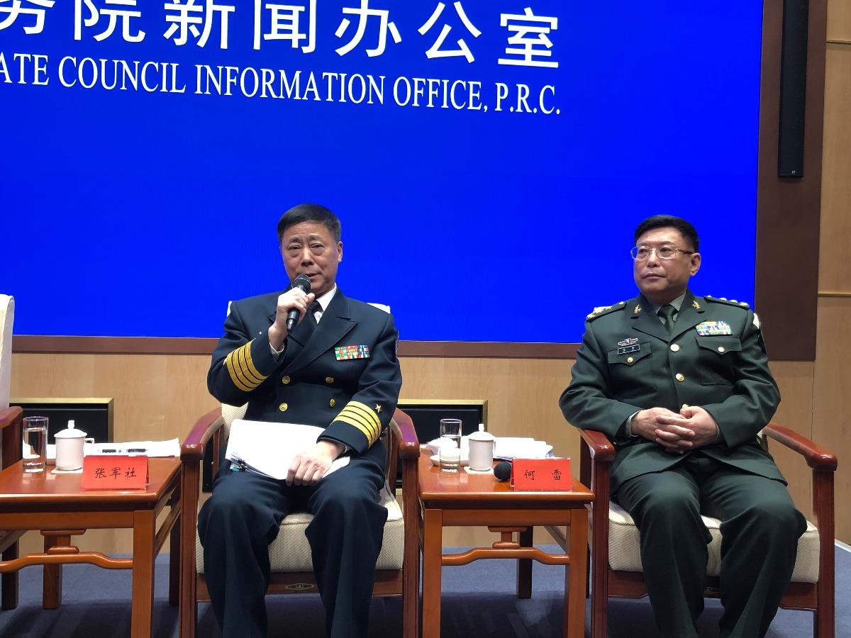 """解放军中将:警告""""台独""""分子 不要做大陆迫不得已使用武力解决台湾的罪魁祸首"""