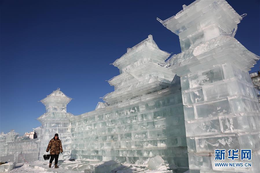 河北豐寧:冰雪風情引遊人
