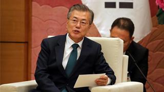 文在寅:中国在半岛无核化进程中发挥积极作用