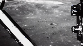 嫦娥四號落月視頻首度公開!震撼8公里落月路