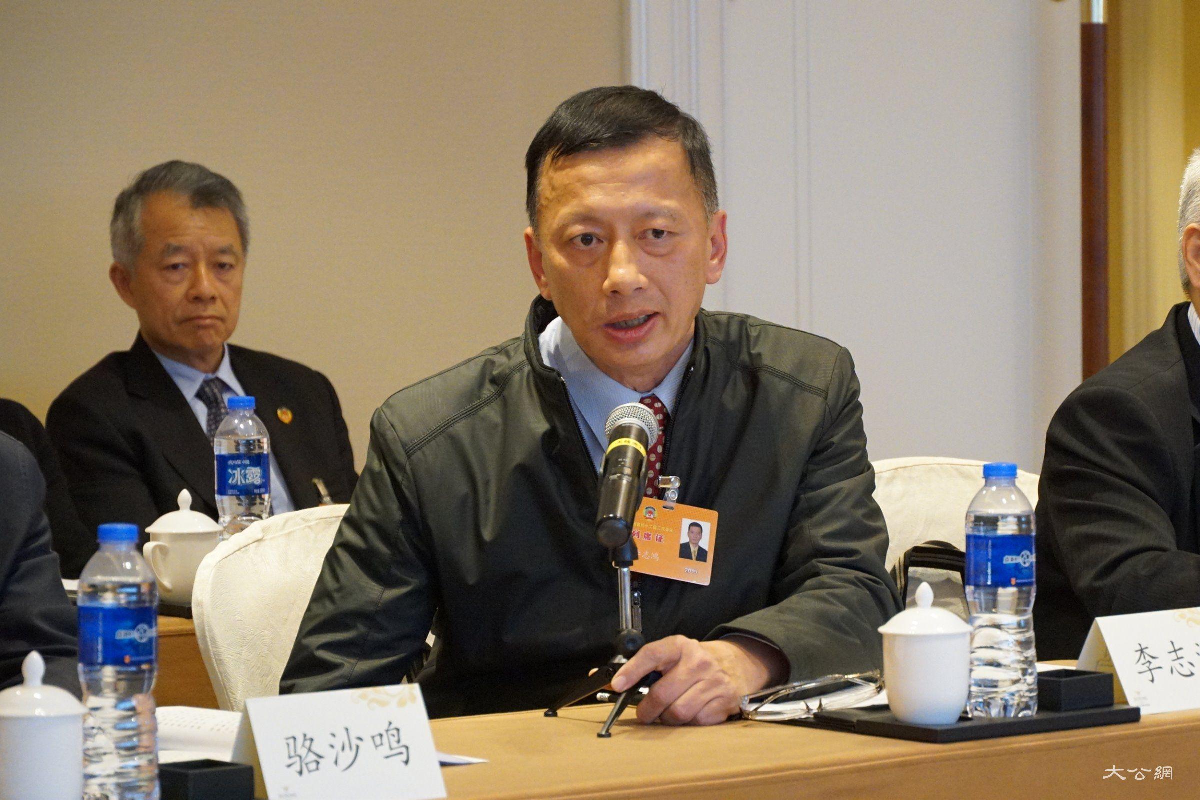台湾列席人士李志鸿:大陆乡村振兴战略是推动两岸经济社会融合发展的契机