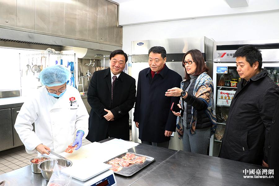 陈元丰走访慰问天津台胞并调研