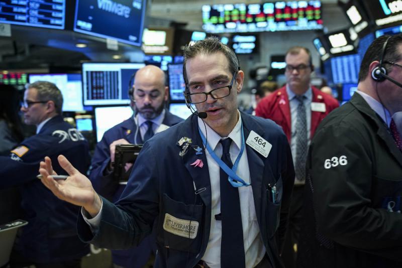 高盛美银报喜 道指早段涨150点