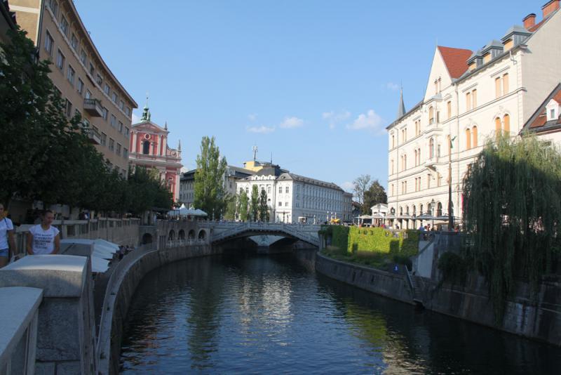 斯洛文尼亚古城犹繁华