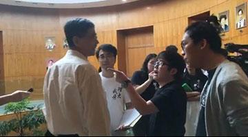 """涉禁锢袭击理大副校长 学独联""""关同学""""拒道歉"""