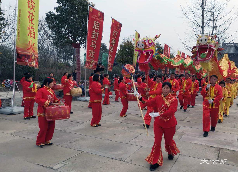 開封朱仙鎮年文化節日系列活動開幕