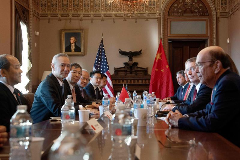 """中美贸谈再启有望达成协议 华为风波""""不会令谈判变复杂"""""""