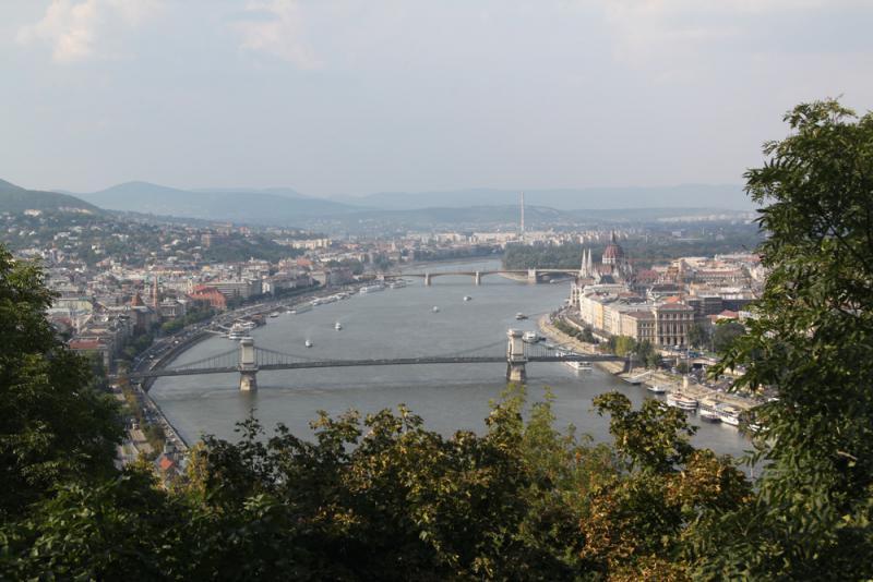 布达佩斯 多瑙河上看风景