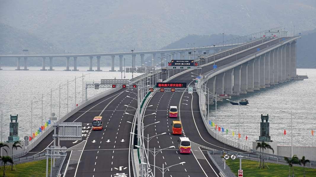 港珠澳大桥│明起一连7日 小型客车免费通行