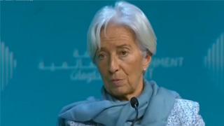 """IMF总裁拉加德对英国""""脱欧""""前景表担忧"""