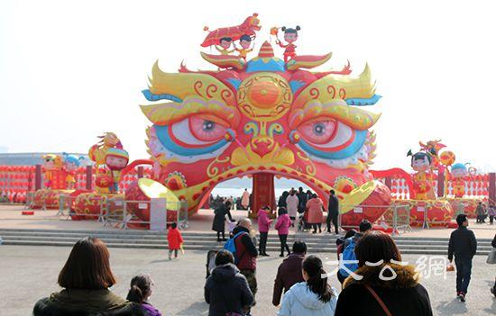 鄭州綠博園傳統民俗文化活動火火火火
