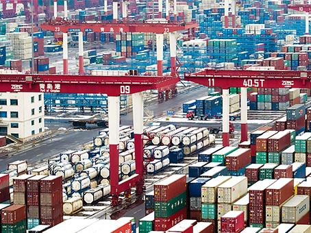 中国外贸开门红 经济增长动力足