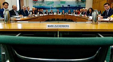"""?英议会报告轰Facebook""""数码流氓"""" 呼吁立法全面监管"""