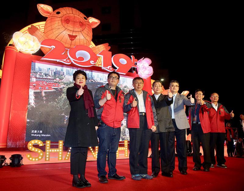 ?上海花燈亮相台北燈節