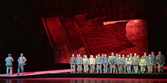 話劇《焦裕祿》在京上演 獻禮建國70周年
