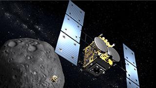 """""""隼鸟2号""""开始在小行星""""龙宫""""降落 将于22日着陆"""