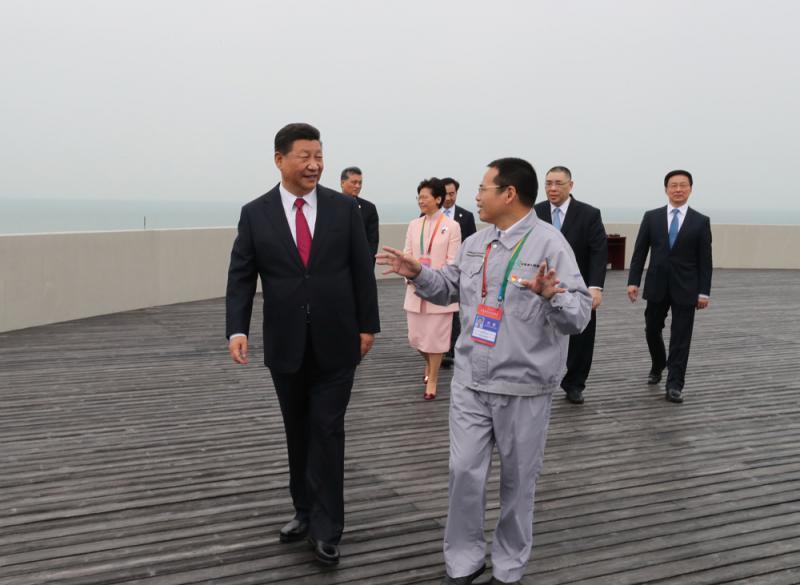 习近平擘劃湾区蓝图 共享时代荣光