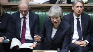 英媒:特雷莎·梅拟提议正式排除无协议脱欧