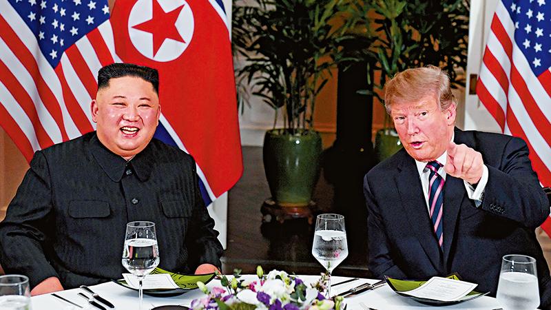 """外界关注""""特金会2.0""""是否签《河内宣言》 宣布朝鲜战争正式结束"""