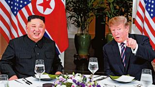 """朝媒称""""金特相约再会"""" 美方:不愿在具体无核化计划前对朝让步"""