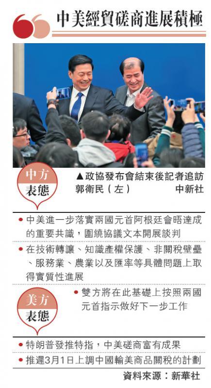 ?中美经贸磋商进展积极