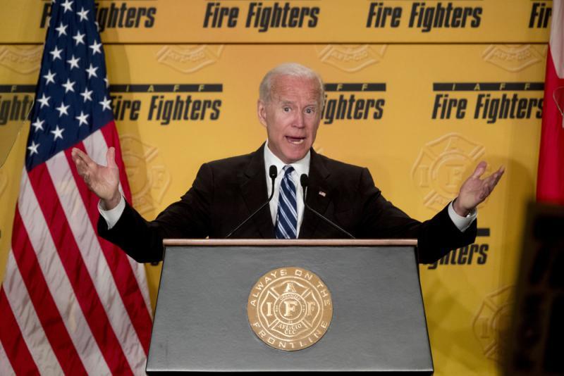 美國前副總統拜登暗示參選2020年總統 傳下月中開跑