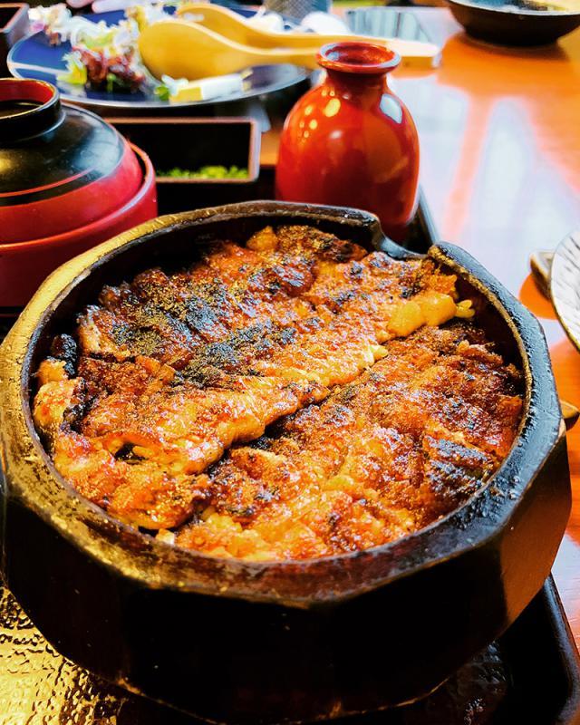蓬莱轩的鳗鱼饭三吃/潘 少