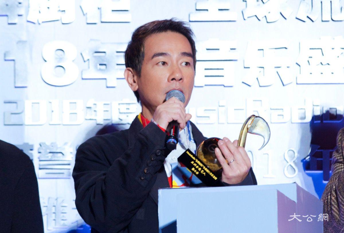 陳小春奪「亞洲全能藝人」大獎