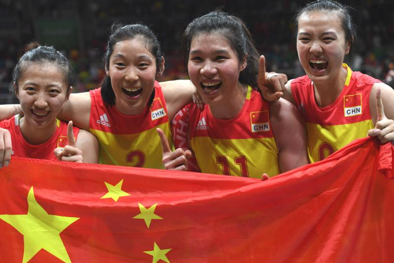 张常宁中国女排全能战士